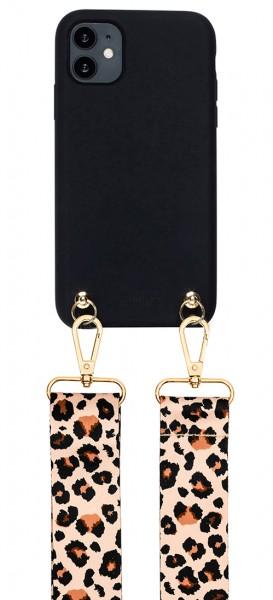 Artikelbild 1 des Artikels Necklace Case - Soft Touch Black with Leo Strap iP