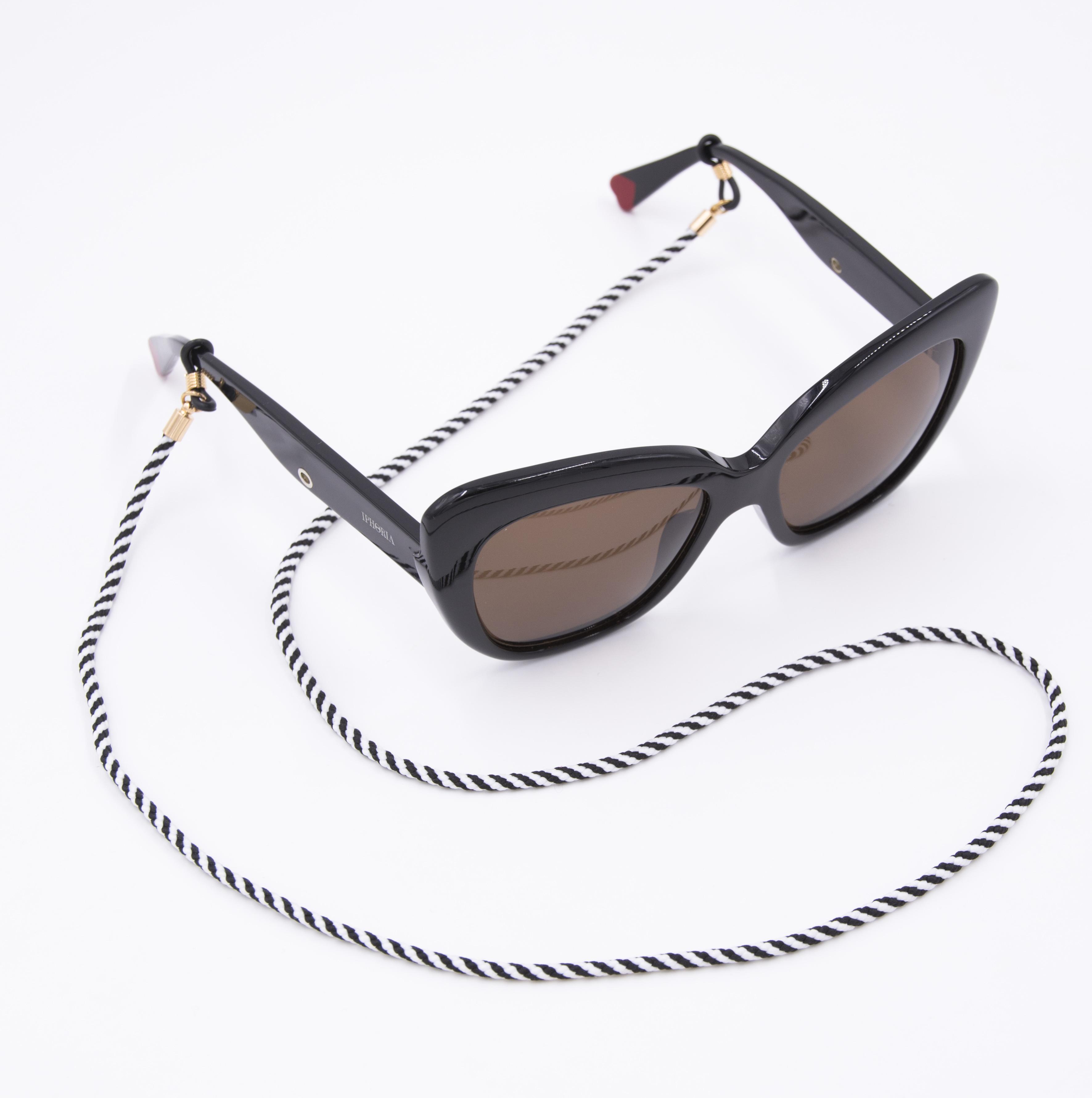 0c824a132fc8 Glasses Strap Nylon - Black and White | Bags & Accessories | IPHORIA