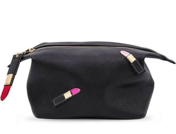 Washbag - Lipsticks Black 1