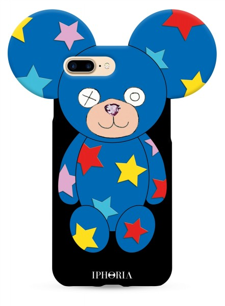 Teddy Multicoloured Stars for iPhone 7+/8+ 1