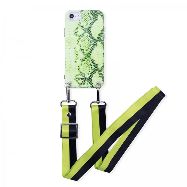 Case for Apple iPhone 7/8 with Green Strap - Sonia Lyson Green 1