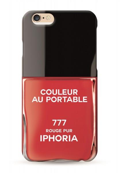 Couleur au Portable Vernis Rouge Pur für Apple iPhone 7/ 8 1