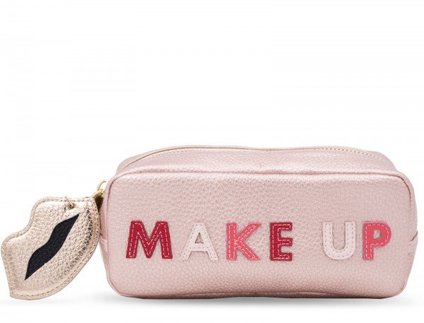 Mini Power Purse incl. Powerbank (2600 mAh) - Make Up Rosa with Charm 1