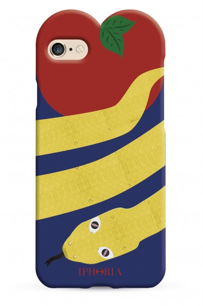 Heart Case Yellow Snake for iPhone 7/ 8 1