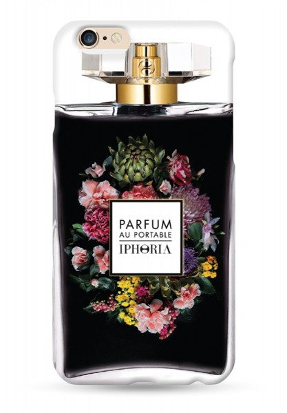Parfum au Portable Flower Bouquet Black für Apple iPhone 6/ 6S 1