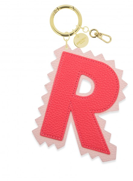 XL Bag Charm Red Letter R 1