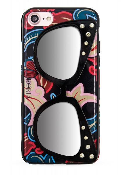 Case with Mirror for Apple iPhone 7/8 - Sunglasses Ornaments 1