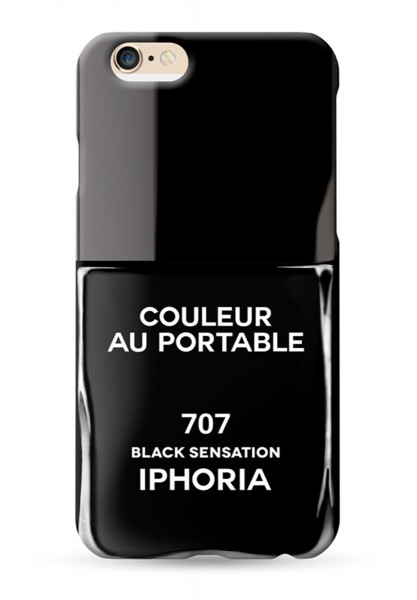 Couleur au Portable Vernis Black Sensation für Apple iPhone 6/ 6S 1