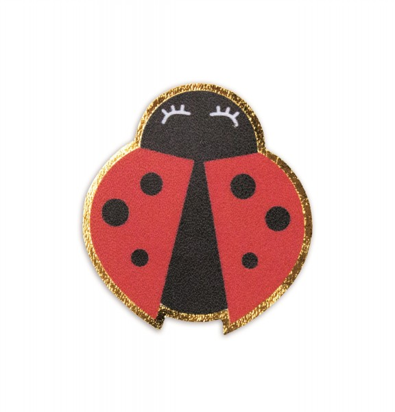 Ledersticker Ladybug 1