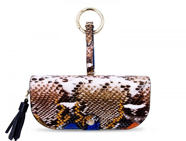 Glasses Case with Bag Holder - Wild Snake 1