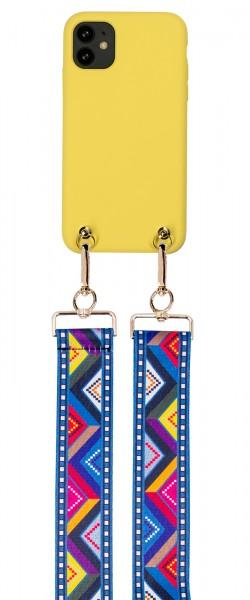 Artikelbild 1 des Artikels Necklace Case + Ethno Strap - Soft Touch Yellow iP
