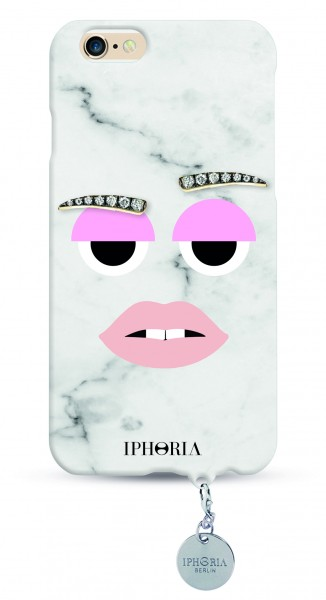 Monster Cool Marble mit Silberplate für Apple iPhone 6/ 6S 1