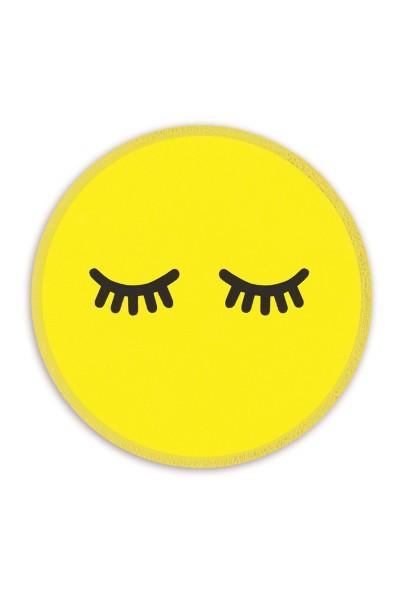 Ledersticker Smiley 1
