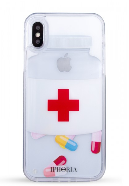 Liquid Case for Apple iPhone X - Chill Pill 1