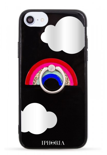 Case for Apple iPhone 7/8 - Ring Happy Rainbow  1