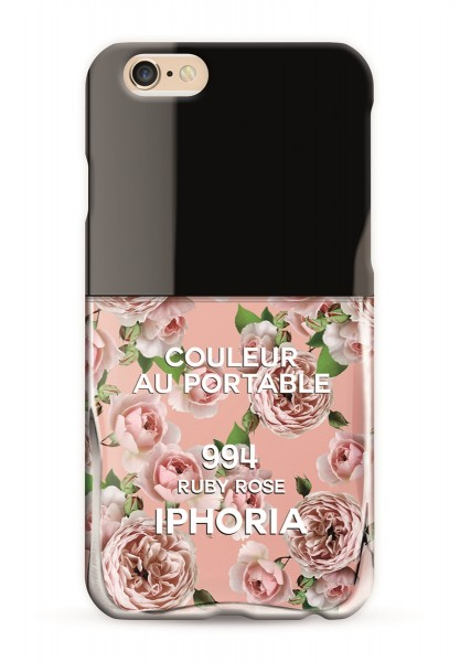 Couleur au Portable Rosé Roses für Apple iPhone 6/ 6S 1