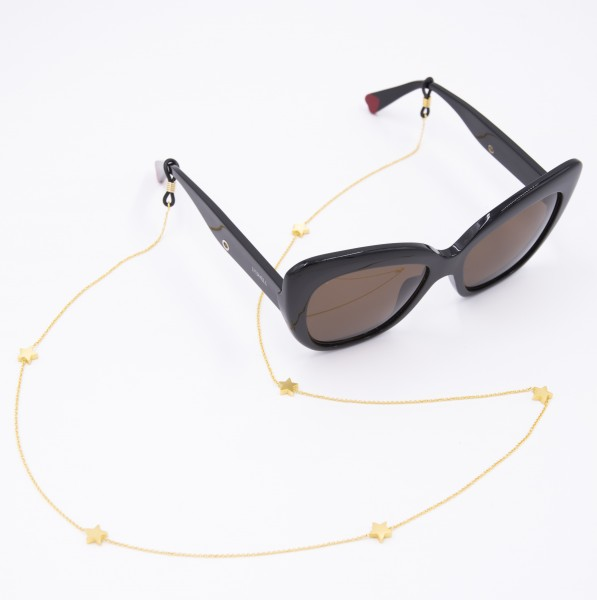 Sunglasses Strap gold plated - Little Stars 1