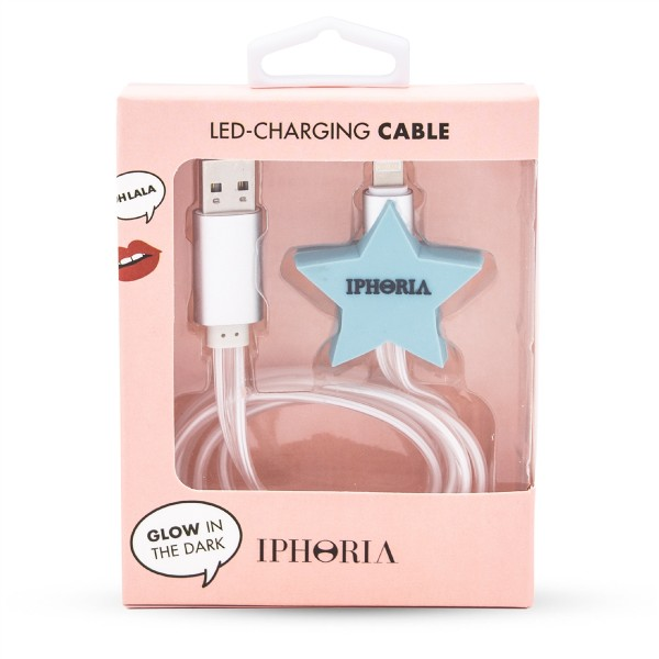 Lighting Cable for Apple iPhone - Blue Star 1