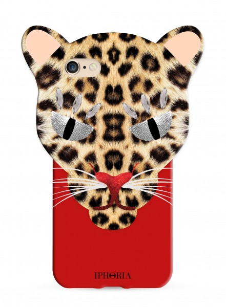 Leo Case Red Leopard for iPhone 7/ 8 1