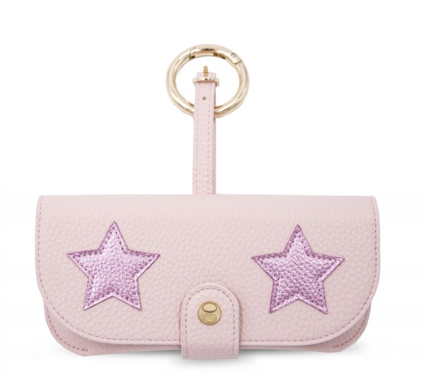 Sunglasses Case with Bag Holder - Stars Nude 1
