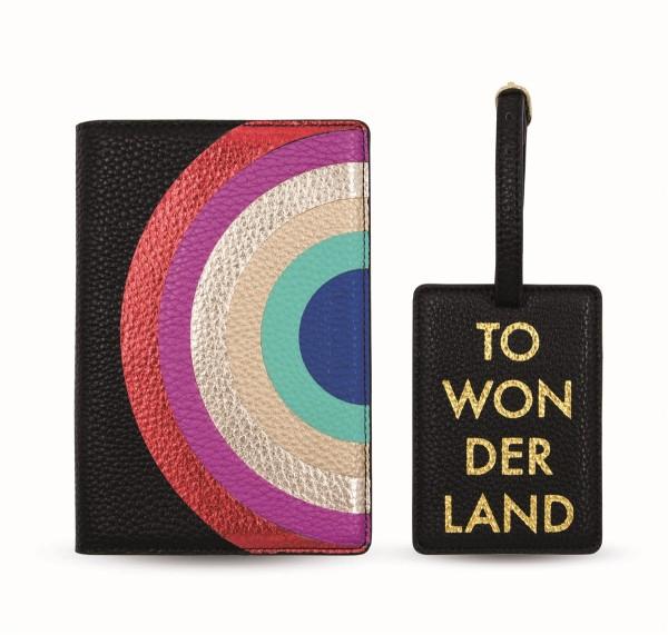 Travel Kit (Passport Holder + Luggage Tag) - To Wonderland 1
