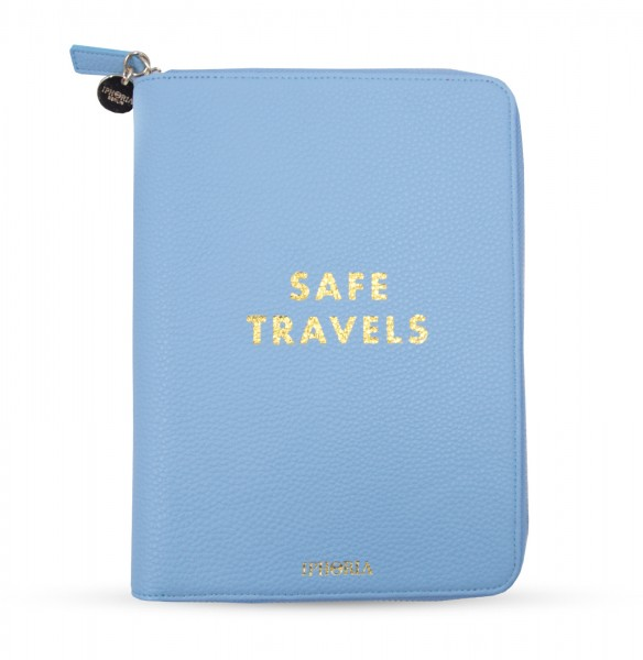Travel Wallet Sky Blue - Safe Travels 1