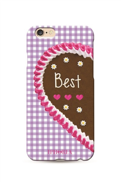 Oktoberfest Special Wiesn Best Friends Purple für Apple iPhone 6/ 6S 1