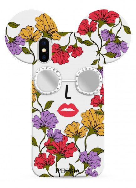 Case for Apple iPhone X/Xs - Teddy Floral  1
