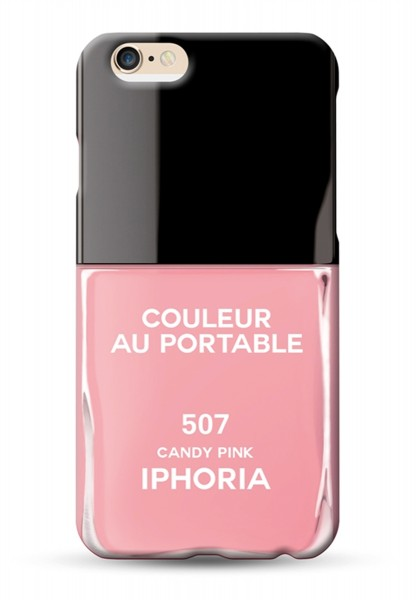 Couleur au Portable Vernis Candy Pink für Apple iPhone 6/ 6S 1