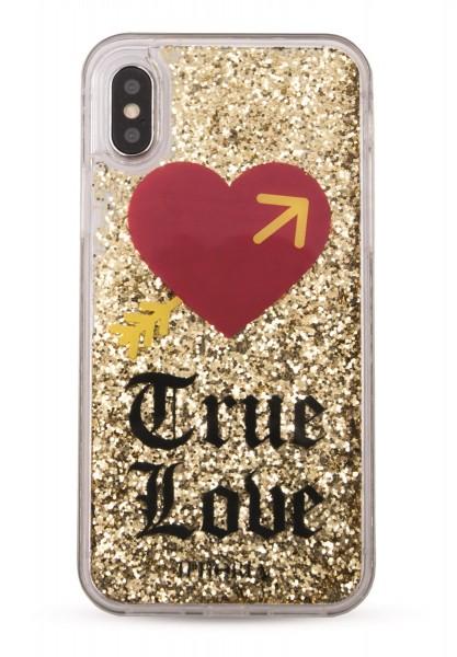 Liquid Case for Apple iPhone X/XS - True Love 1