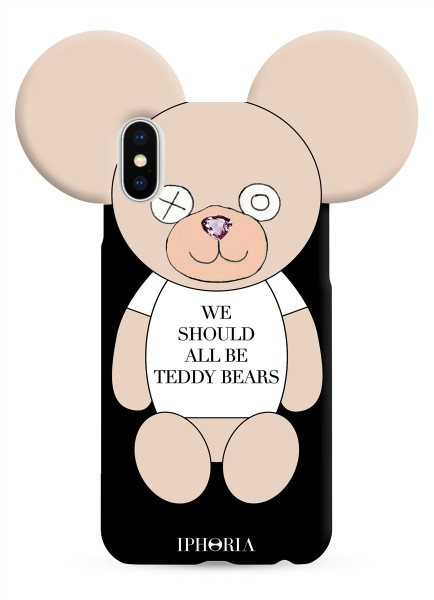 Case for Apple iPhone X/XS - We should all be Teddy Bears 1
