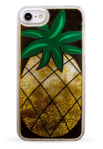 Liquid Case for Apple iPhone 7/8 - Pineapple Gold 1