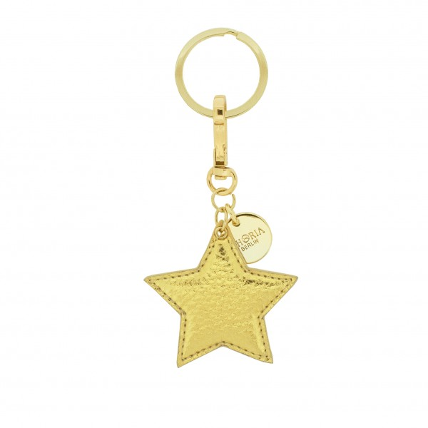 Keychain Golden Star 1