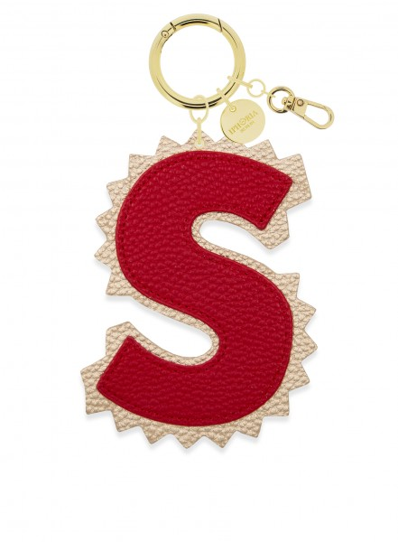 XL Bag Charm Red Letter S 1