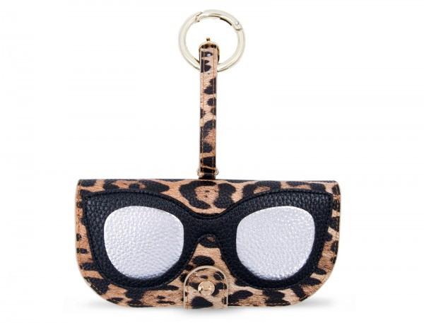 Glasses Case with Bag Holder - Leo with Glasses 1