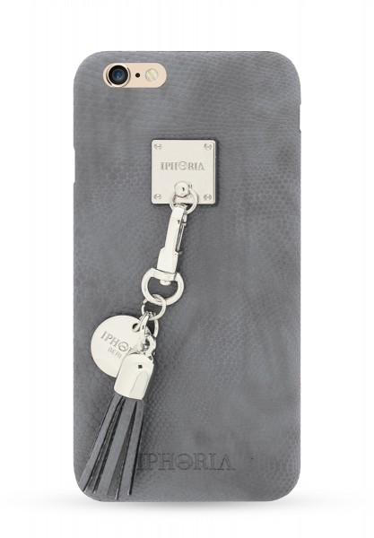 Lining Case mit Tassel in Grey Snake für Apple iPhone 6/ 6S 1