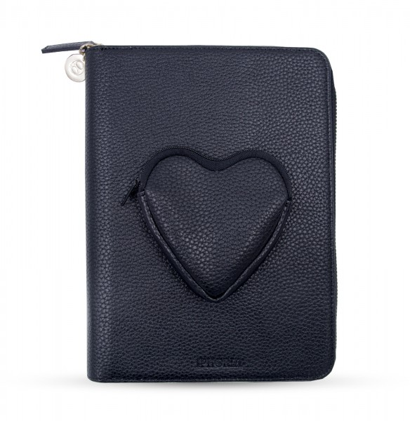 Artikelbild 1 des Artikels Travel Wallet Grey - Heart