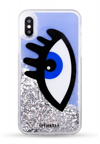 Liquid Case for Apple iPhone X - Blue Eye 1