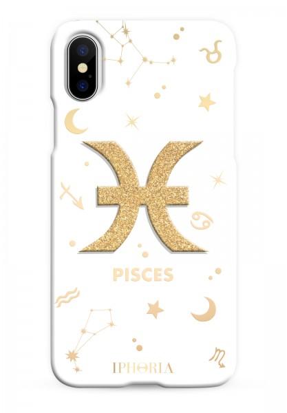 3D Case for Apple iPhone X/XS - Zodiac Pisces 1