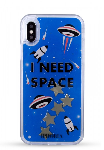 Liquid Case for Apple iPhone X/Xs - I Need Space 1