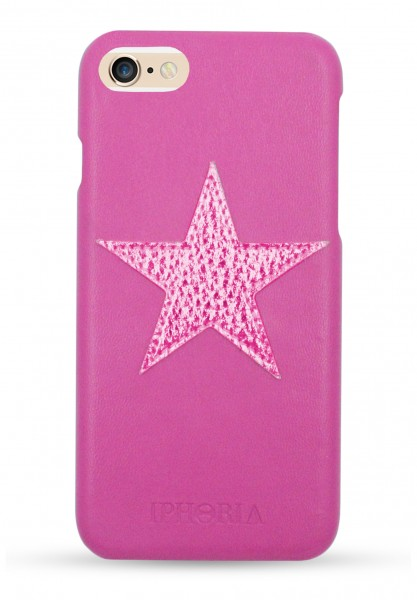Case Pink Metallic Star for iPhone 6/6S/7/8 1