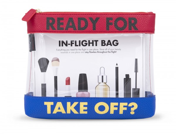Inflight Bag - Ready for take off Blue Red 1