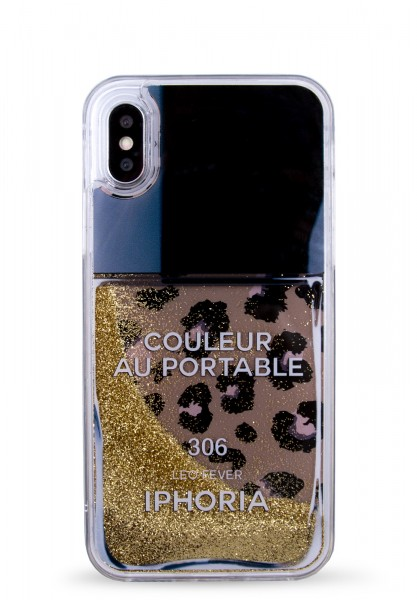 Liquid Case for Apple iPhone X/XS - Leo Nailpolish 1