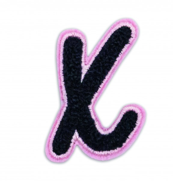 Iron On Patch Letter X 1