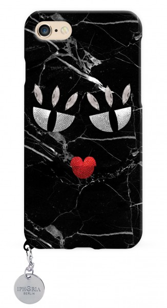 Monster Black Marble für Apple iPhone 7/8  1