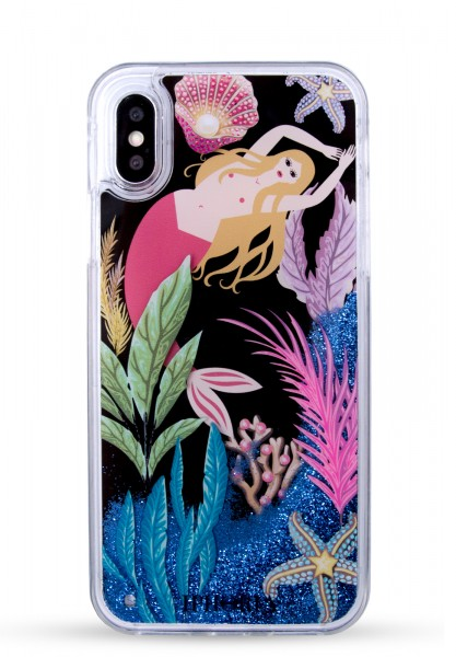 Liquid Case for Apple iPhone X/Xs - Mermaid Is Power 1