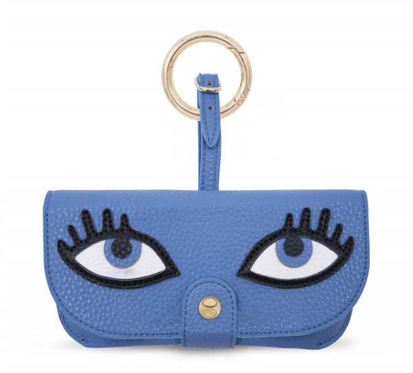 Sunglasses Case Eyes Blue  1