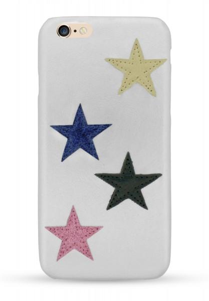 Star Patch Case Silver für Apple iPhone 6/ 6S 1