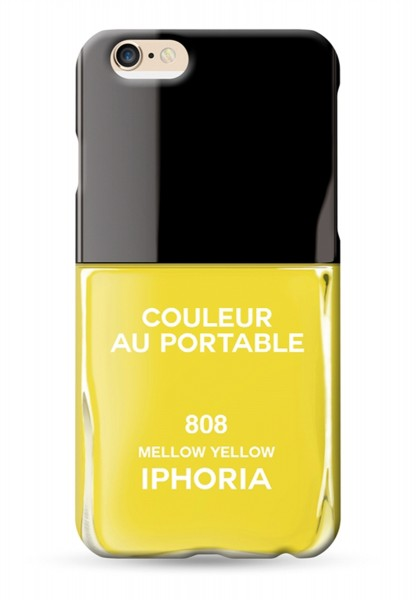 Couleur au Portable Vernis Yellow Mellow für Apple iPhone 6/ 6S 1