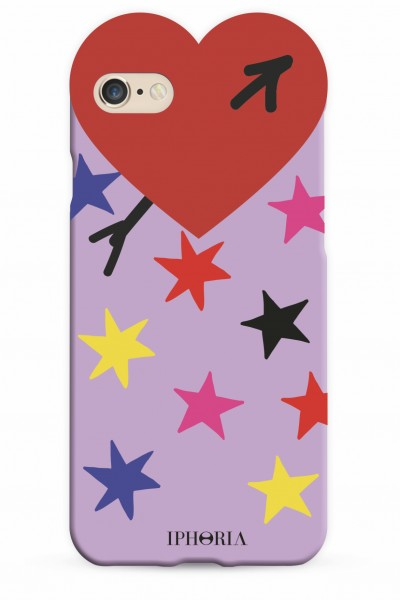 Heart Case Multicolour Stars for iPhone 7/ 8 1